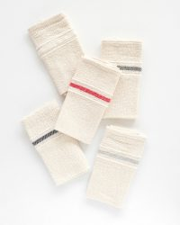 Country Napkin With Variegated Stripes (Denim)
