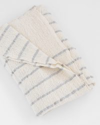 Baby Blankets With Stripes Throughout (Grey)