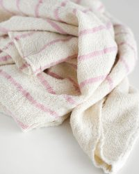 Baby Blankets With Stripes Throughout (Pink)