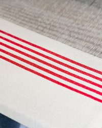 Country Cushion Cover With Stripes Throughout