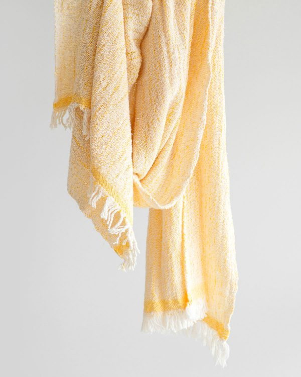 Contemporary Scarf (Yellow)
