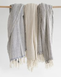 Contemporary Shawl (Charcoal)