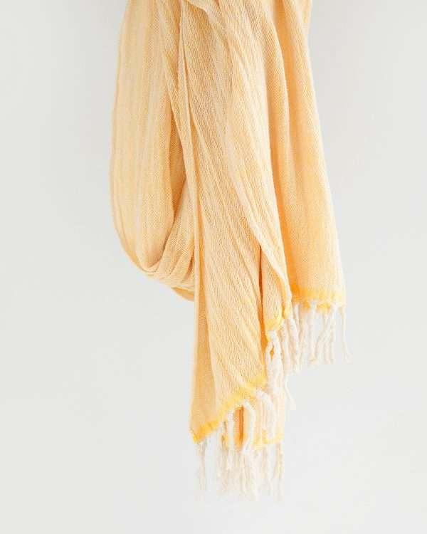 Contemporary Shawl (Yellow)