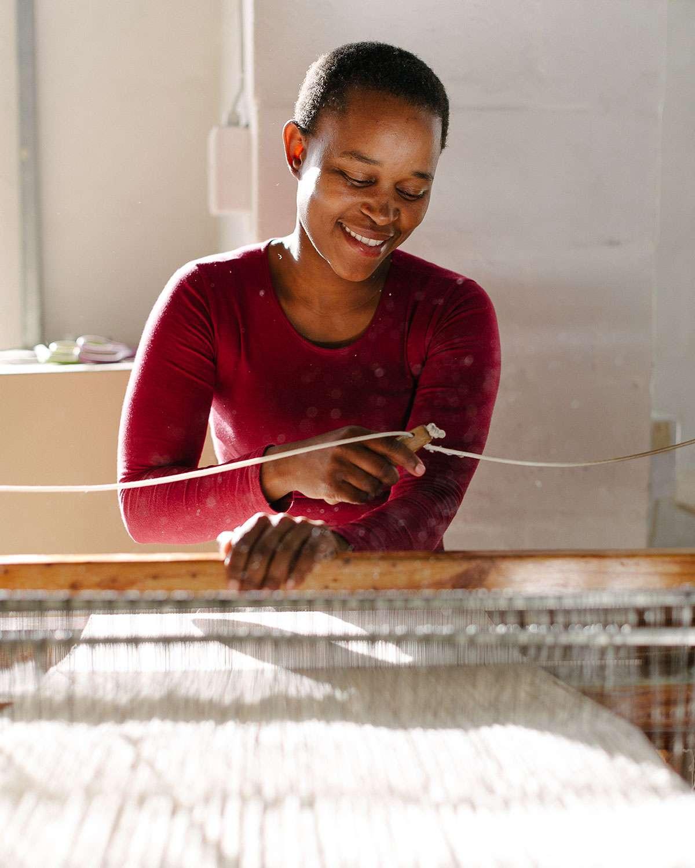 Vuyokazi Magenu - Barrydale Hand Weavers