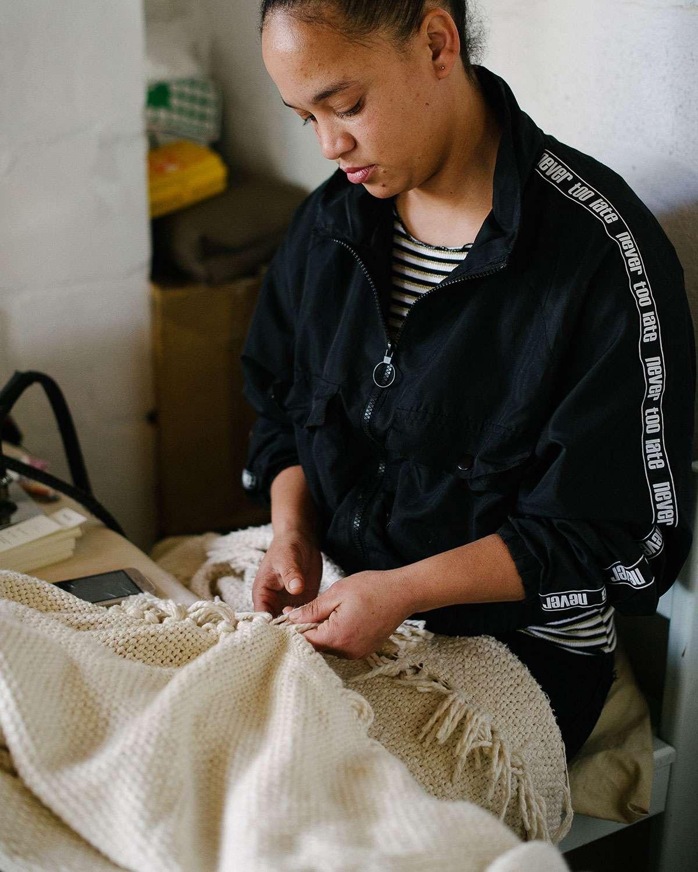 Natalie Braaf - Barrydale Hand Weavers