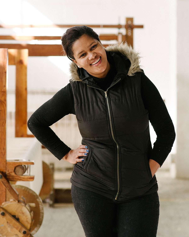 Michelle Davids - Barrydale Hand Weavers