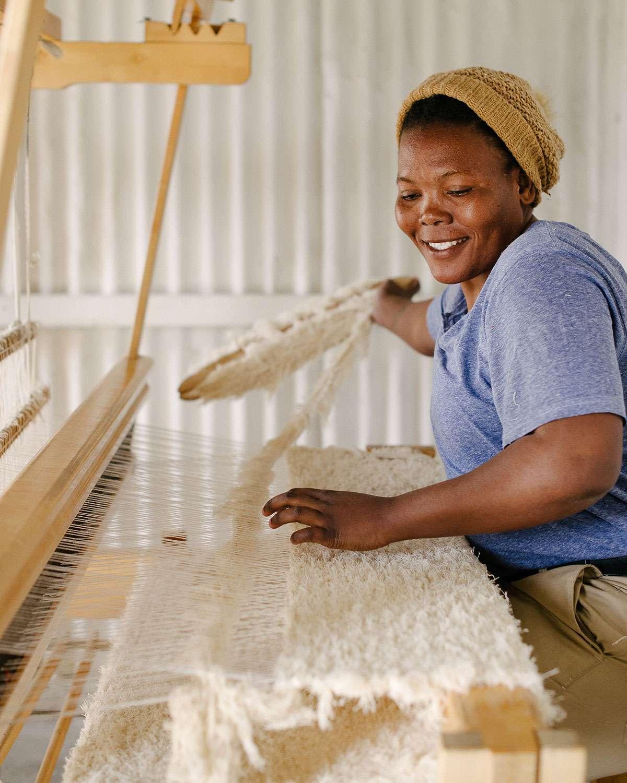 Amanda Tawe - Barrydale Hand Weavers